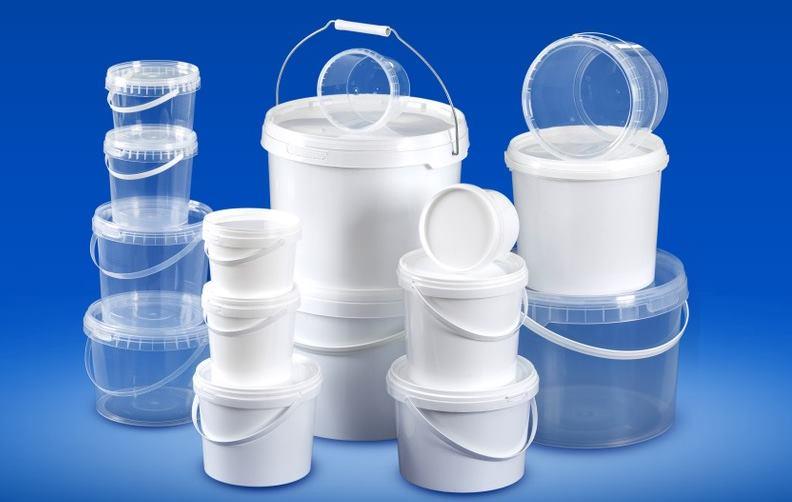 Пластиковые ведра пищевые